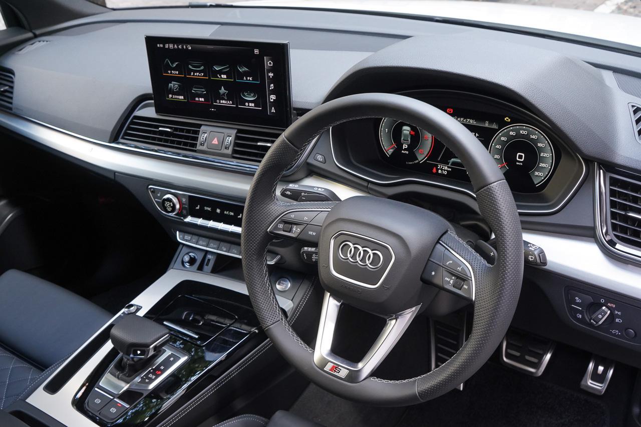 画像3: 【ミニ試乗記】Audi Q5 Sportback 1st edition