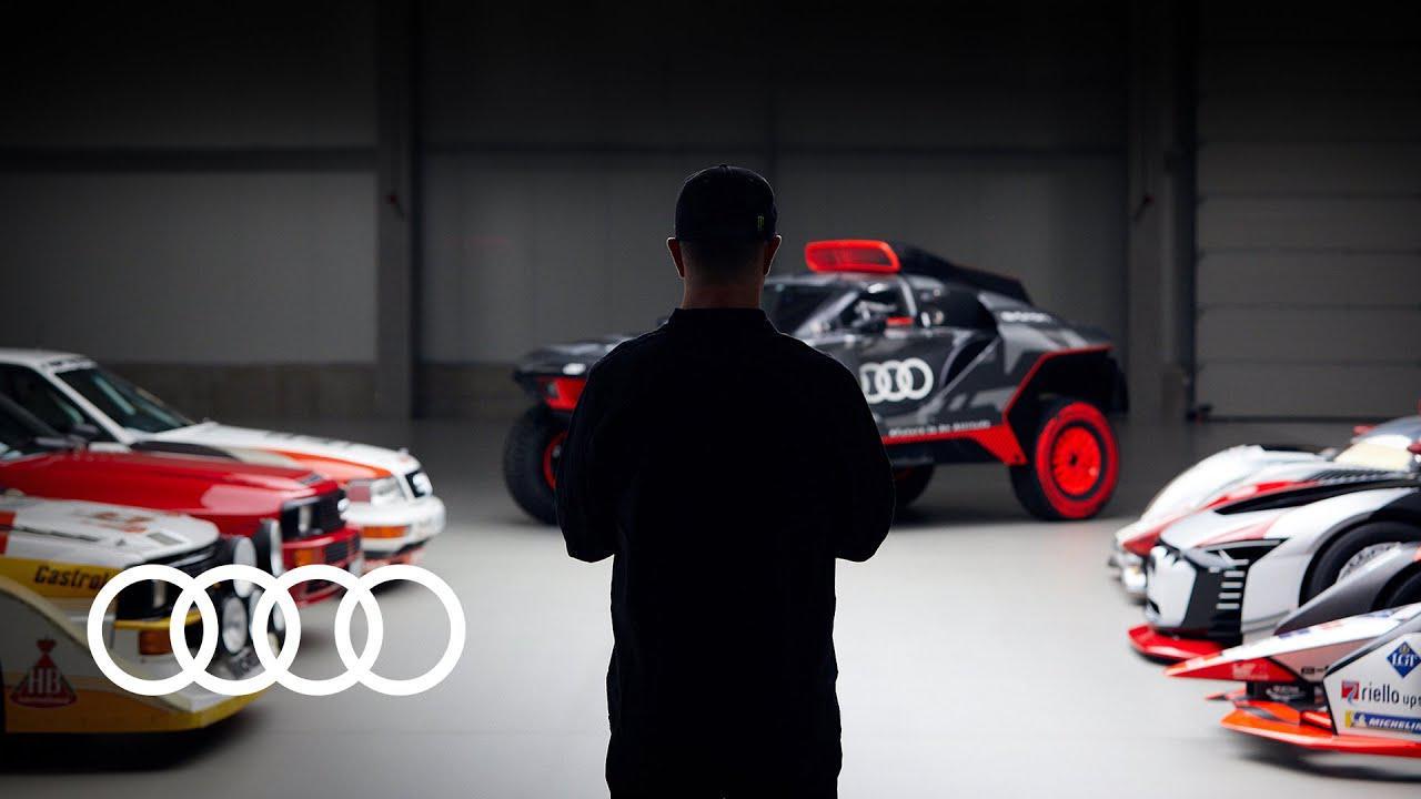 画像: Welcoming a legend to the Audi team youtu.be