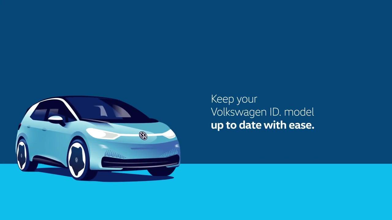 画像: Volkswagen introduces Over-the-Air Updates for  all ID. models - Video