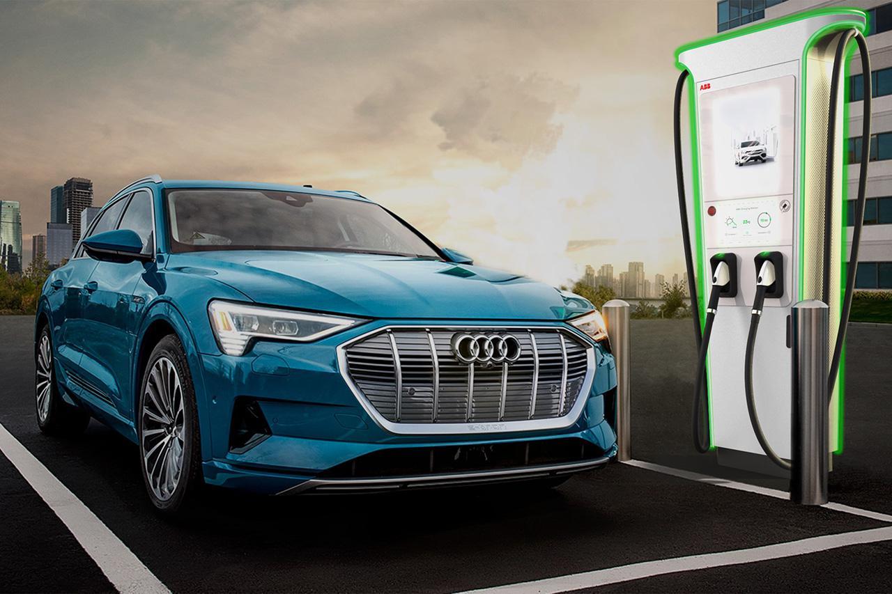 画像: 「Audi e-tron店」が102店舗に拡大