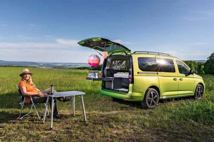 画像1: 【Auto Bild】ソロキャンにおすすめ? VW「キャディ カリフォルニア」の実力をチェック!