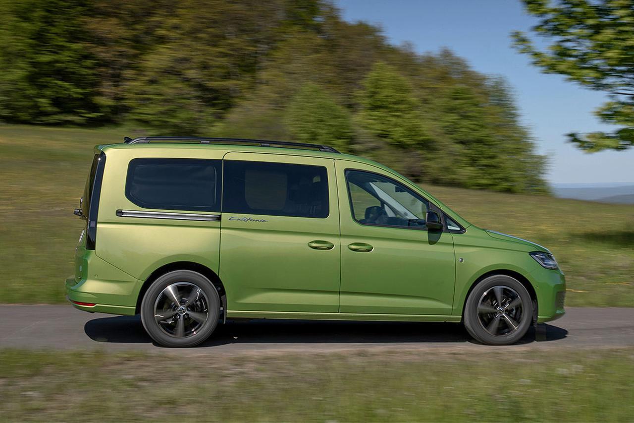 画像2: 【Auto Bild】ソロキャンにおすすめ? VW「キャディ カリフォルニア」の実力をチェック!