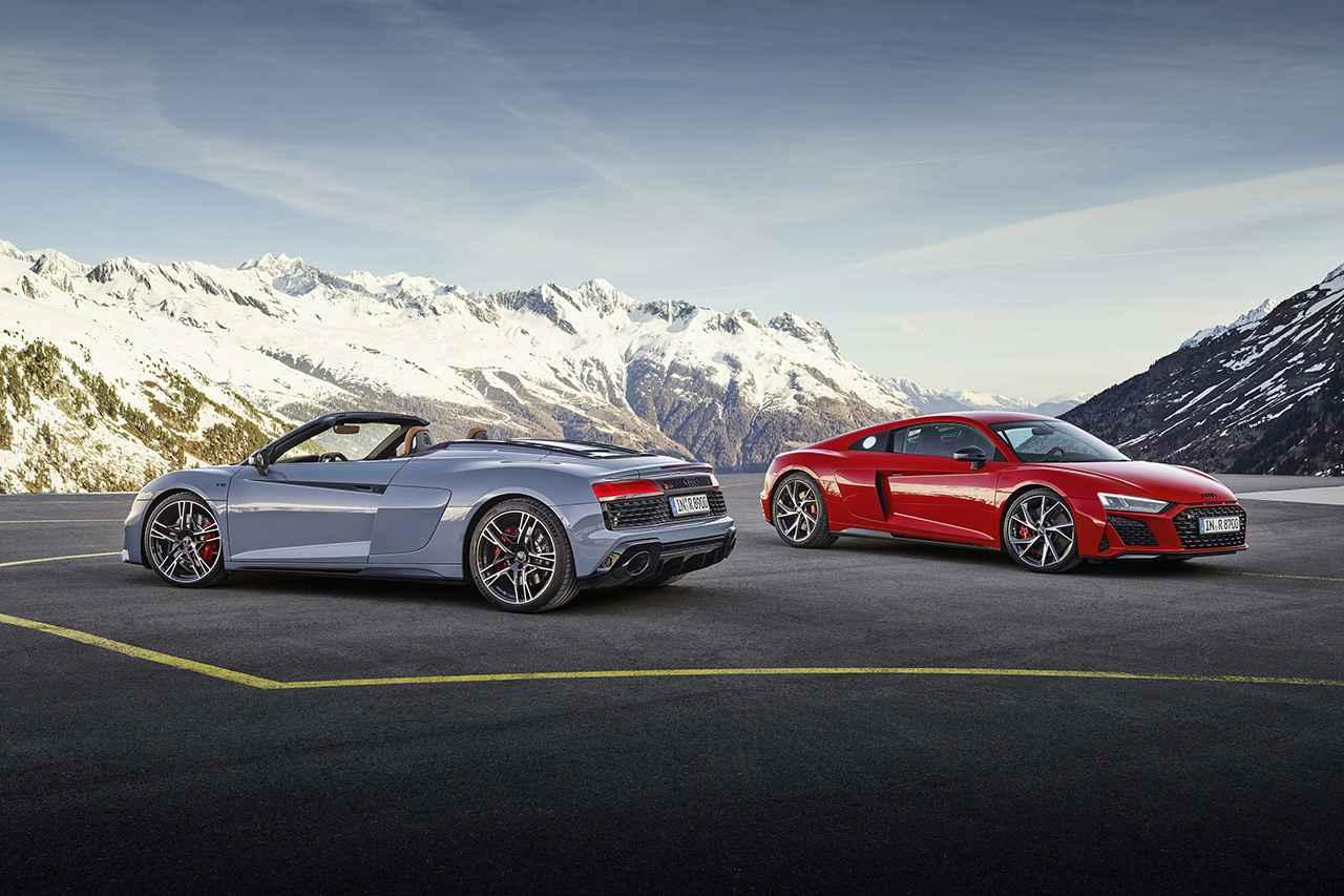 画像1: 「Audi R8 V10 performance RWD」登場