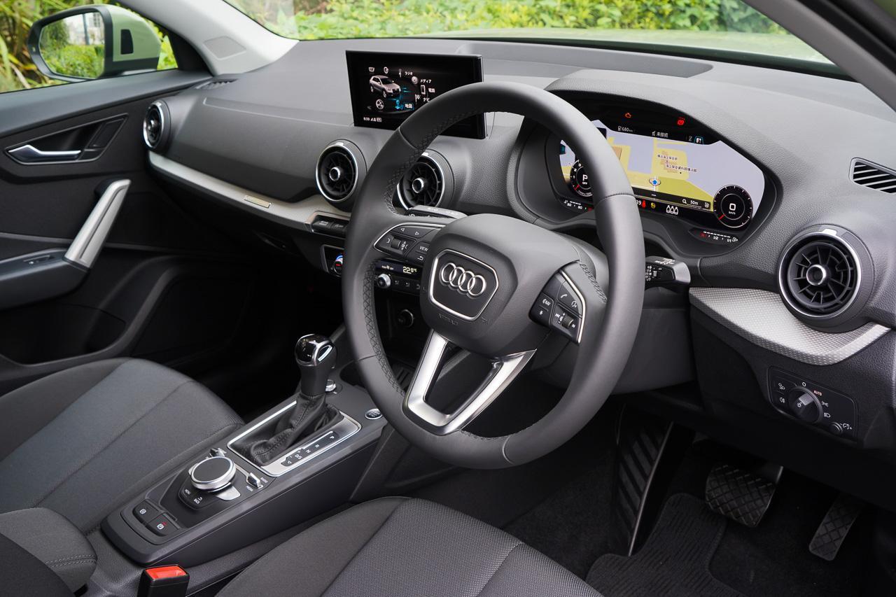 画像2: 【ミニ試乗記】Audi Q2 35 TFSI advanced