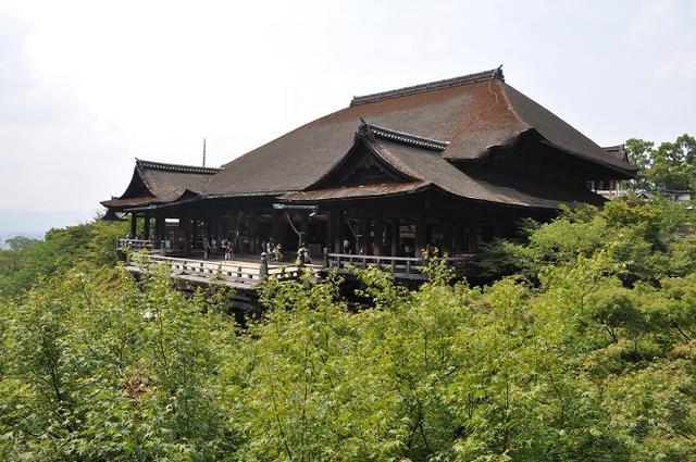 画像: 清水寺本堂(現在は改修工事中です)