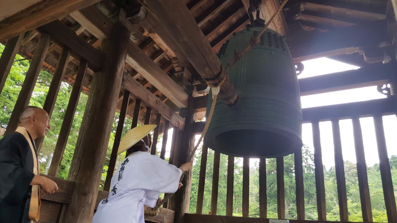 画像: 三井の晩鐘をつくきよぴー