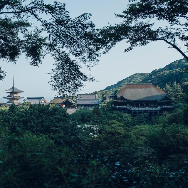 画像: 音羽山 清水寺