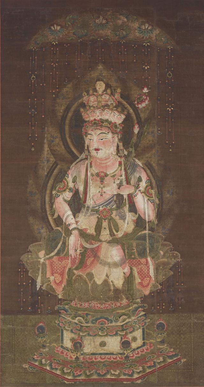 画像: 国宝 十一面観音像 平安時代(12世紀) 通期