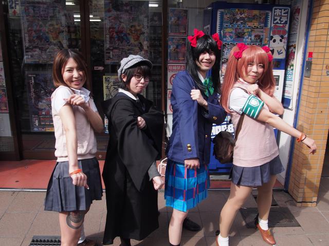 画像: モノマネでおなじみ黒子&美琴お姉様!