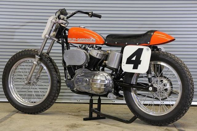 画像: 1967 Harley-Davidson KR750 Flat Track Racer www.mecum.com