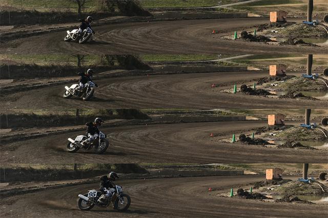 画像3: リアタイヤがフロントタイヤを追い越します。マジで。