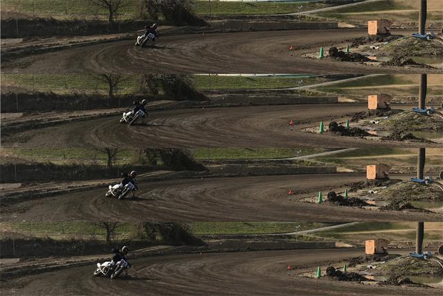 画像2: リアタイヤがフロントタイヤを追い越します。マジで。