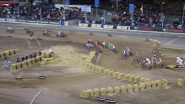 画像: 2018 Daytona TT American Flat Track Singles Class youtu.be
