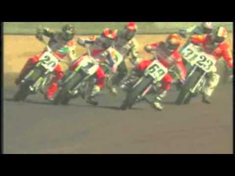 画像: Nicky Hayden briefly leads Springfield Mile, finishes 4th youtu.be