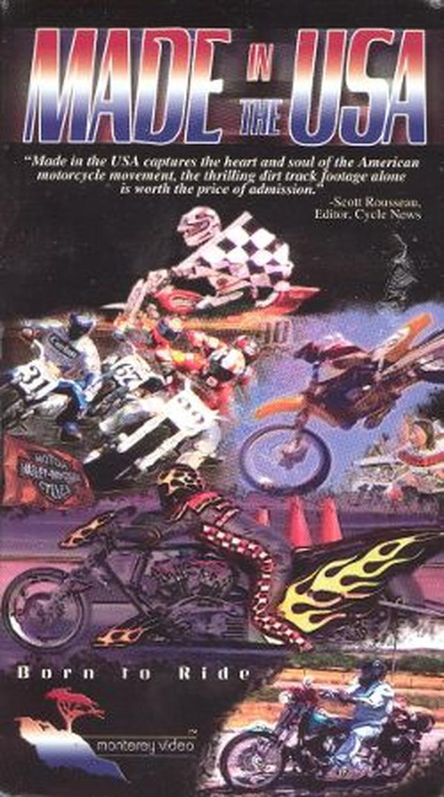 画像: 「Made In The USA」は2002年制作の83分の作品。ダートトラック以外のジャンルもいろいろ登場します。 www.allmovie.com