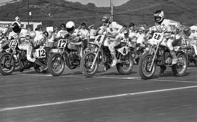 "画像: Mitch Friedman / ABC Wide World of Sports ""Superbikers"", 1983 www.cyclenews.com"