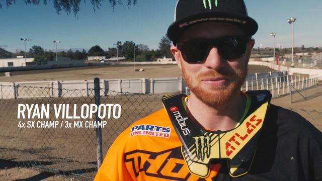 画像: Kawasaki Pro SX Racers Learn Flat Track Riding with Bryan Smith youtu.be