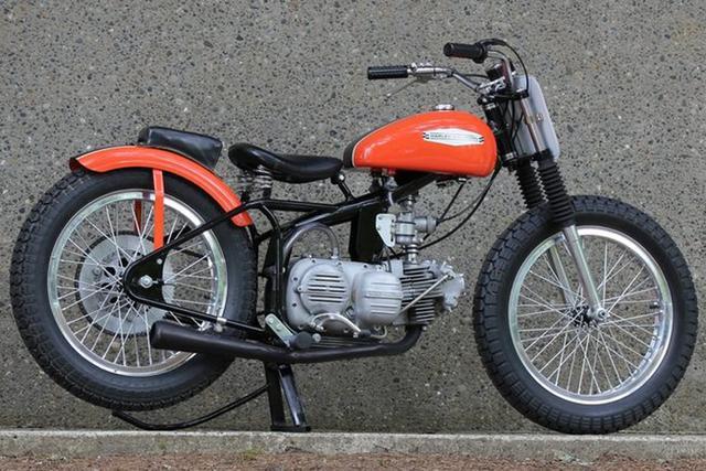 画像: 1969 Harley Davidson Sprint CR250 www.mecum.com