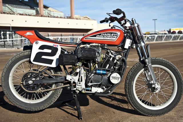 画像: Harley Davidson XR750