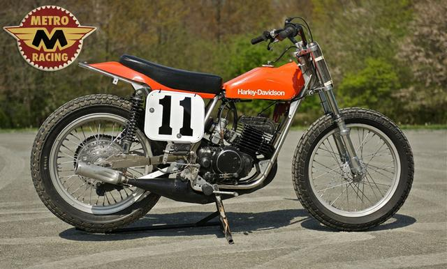 画像: 1978 Champion Framed Factory Harley Davidson MX250 metroracing.com