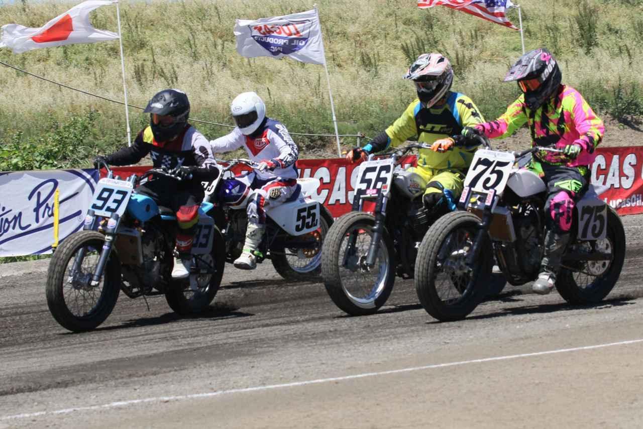 """画像: [Flat Track Friday!!]レースフォーマットをシミュレーションしながら考える""""負けないためのダートトラック・レーシングTIPS""""! - LAWRENCE - Motorcycle x Cars + α = Your Life."""