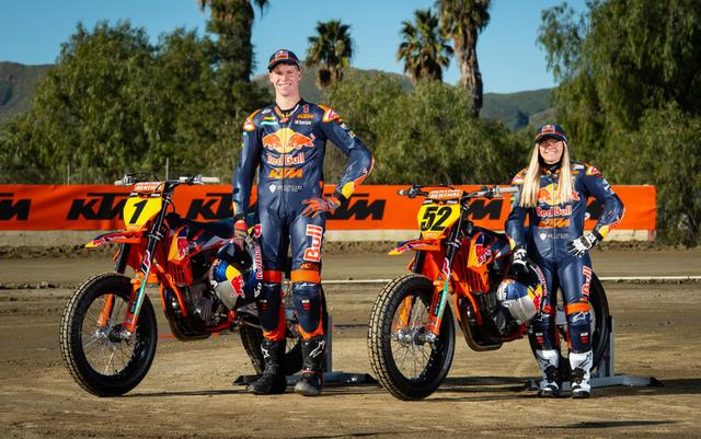 画像: Red Bull KTMファクトリーチーム www.americanflattrack.com