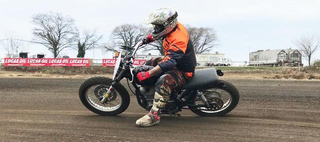 """画像: [Flat Track Friday!!] 憧憬のビッグシングル・ダートトラッカー。ちょ待てよ!日本には""""あの超ロングセラー""""があるじゃないか! - LAWRENCE - Motorcycle x Cars + α = Your Life."""