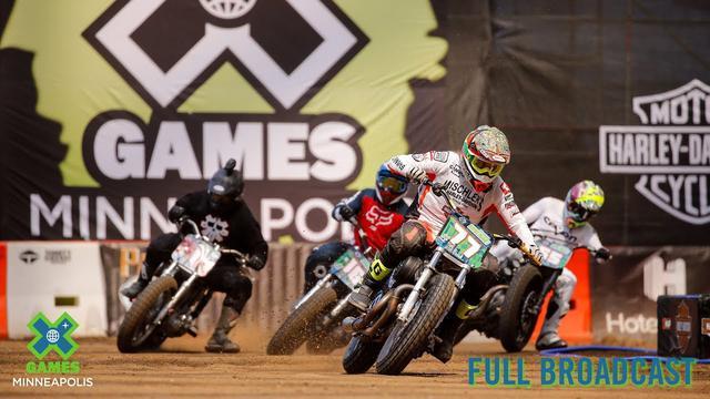 画像: Harley-Davidson Hooligan Racing: FULL BROADCAST | X Games Minneapolis 2019 youtu.be