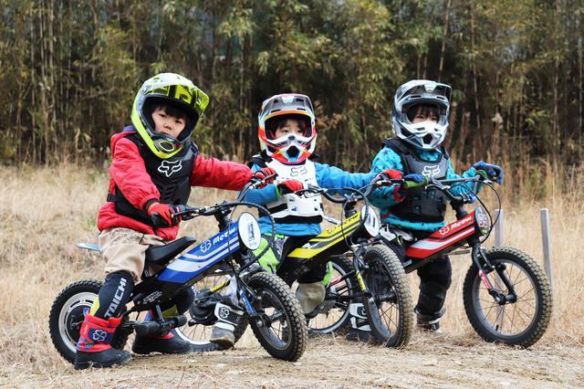 画像: ヨツバモト キッズ用電動ダートバイク Electric dirt bike for kids