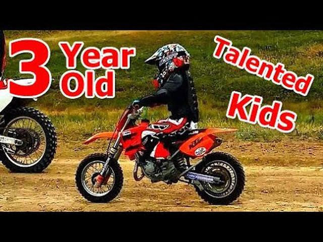 画像: Three Years Old Talented KIDS on Motorcycles youtu.be