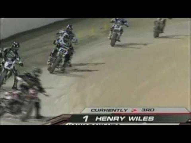 画像: Daytona FlatTrack Dirt Track 2010 Round 1 GNC youtu.be