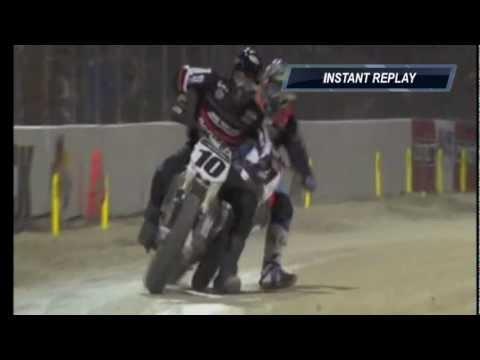 画像: Jared Mees/Johnny Lewis Daytona 2012 crash youtu.be