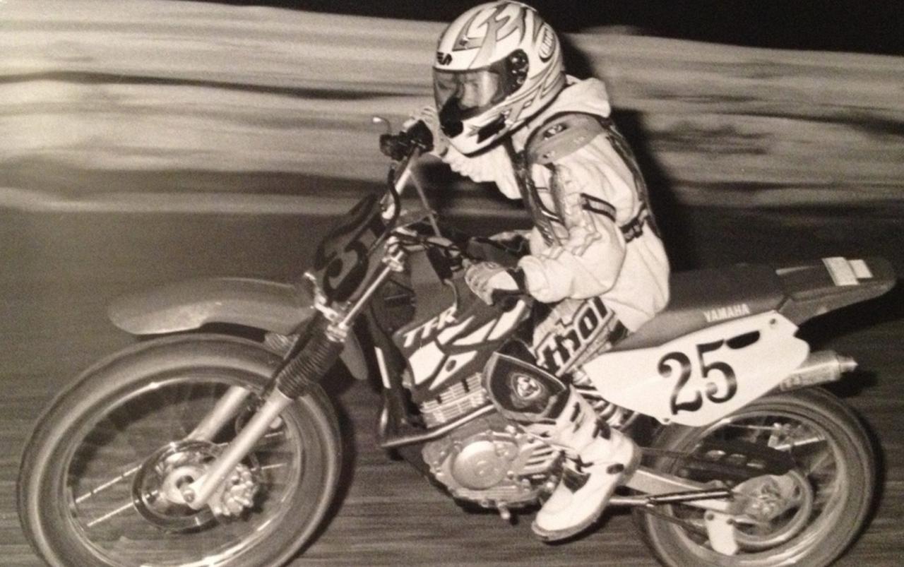 画像: シェイナ12歳での初レース。マシンはほぼストックのヤマハTT-R125。