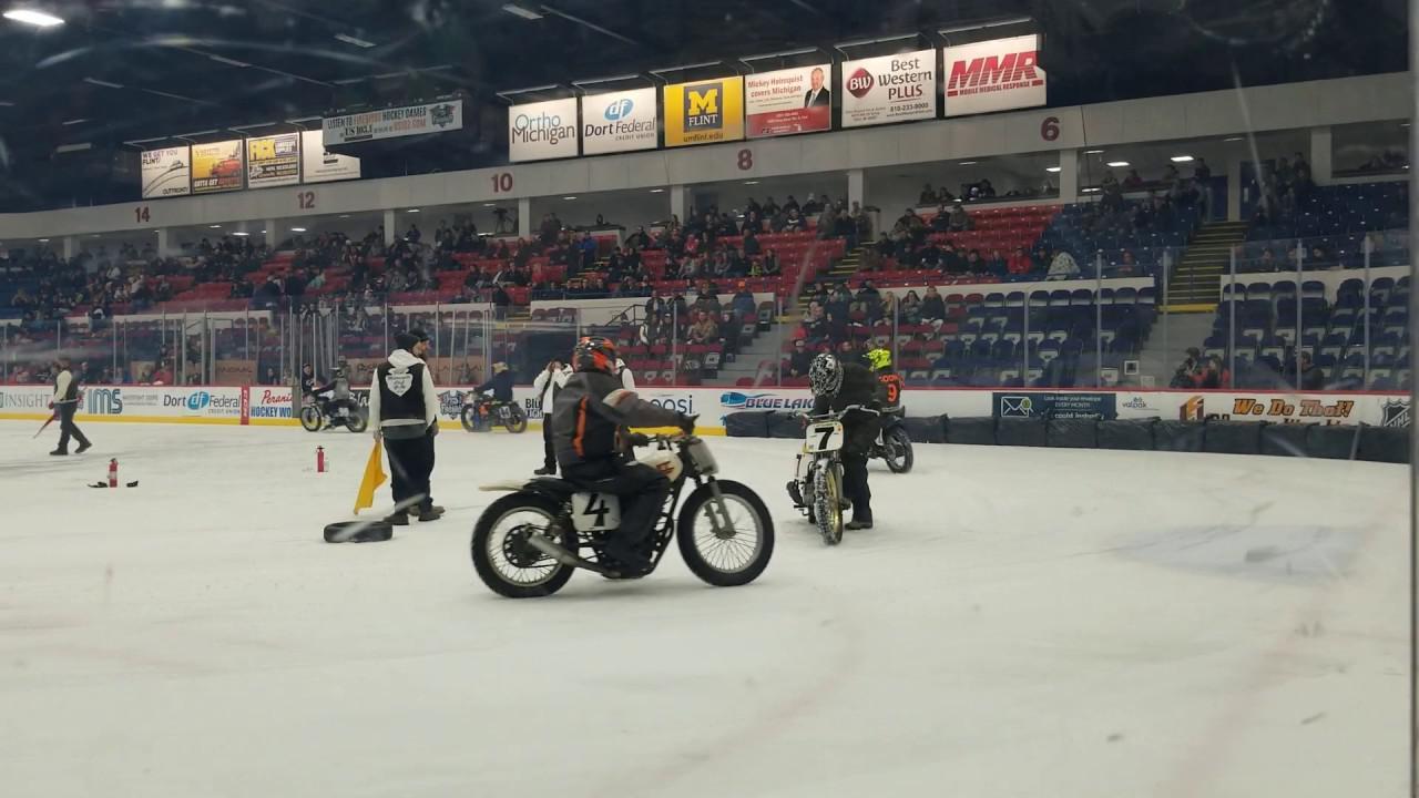 画像: Flint Motorcycle Club Rubber Tire Final - Joe Barnes Win youtu.be