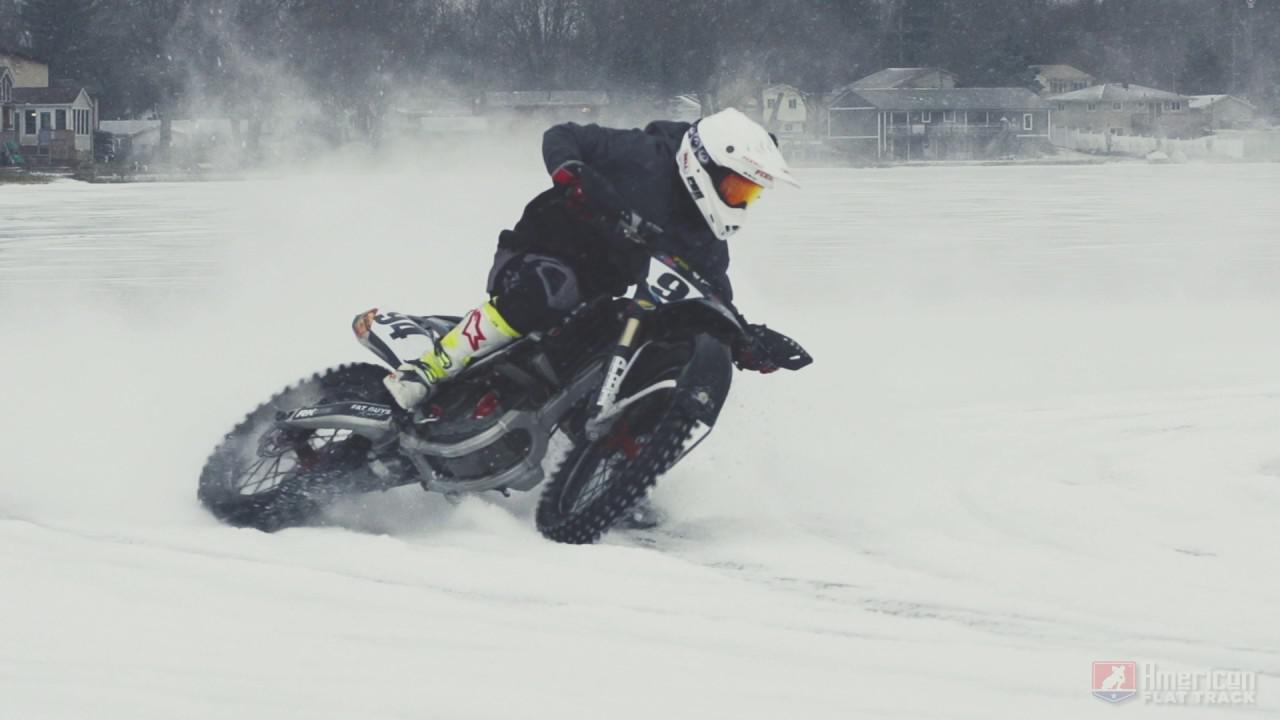 画像: 2017 Ice Track Racing - American Flat Track Style youtu.be