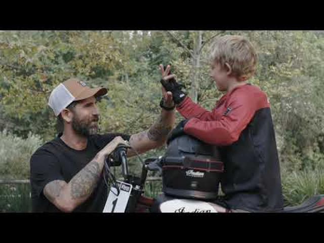 画像: The NEW eFTR Jr - Hand It Down - Indian Motorcycle youtu.be