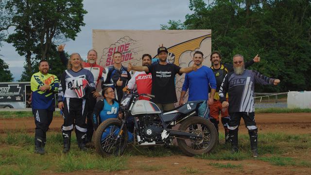 画像: Moto Anatomy X Royal Enfield Slide School- Happy Ramblers Motorcycle Club youtu.be