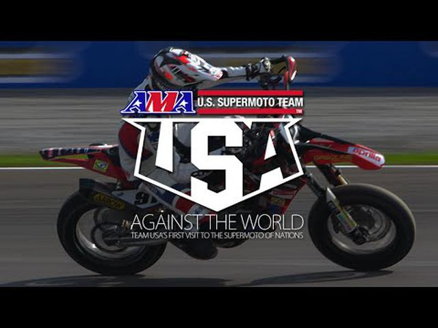 """画像: """"Against The World"""" - Team USA at the SuperMoto Of Nations youtu.be"""