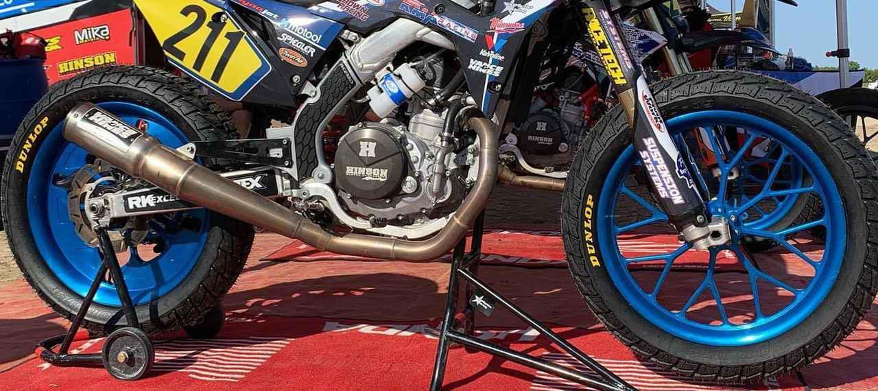 画像: [Flat Track Friday!!] ここ最近の本場ダートトラックマシンのトレンドは重め・太め・硬めの3拍子が揃った削りホイールでキマリ! - LAWRENCE - Motorcycle x Cars + α = Your Life.