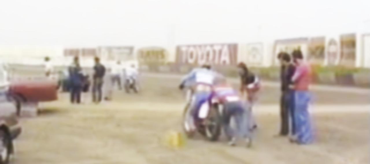 画像: [Flat Track Friday!!] 独占入手!アメリカンホンダ・ファクトリーダートトラックチーム、世界初公開のプライベートテスト映像! - LAWRENCE - Motorcycle x Cars + α = Your Life.