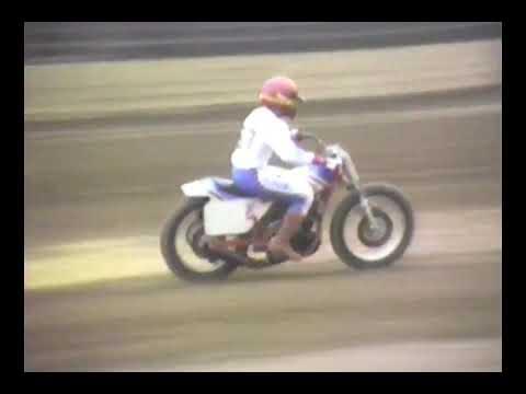 "画像: American HONDA factory flattrack team's private test 2: Ascot ""SuperBikers"" TT 1983 youtu.be"