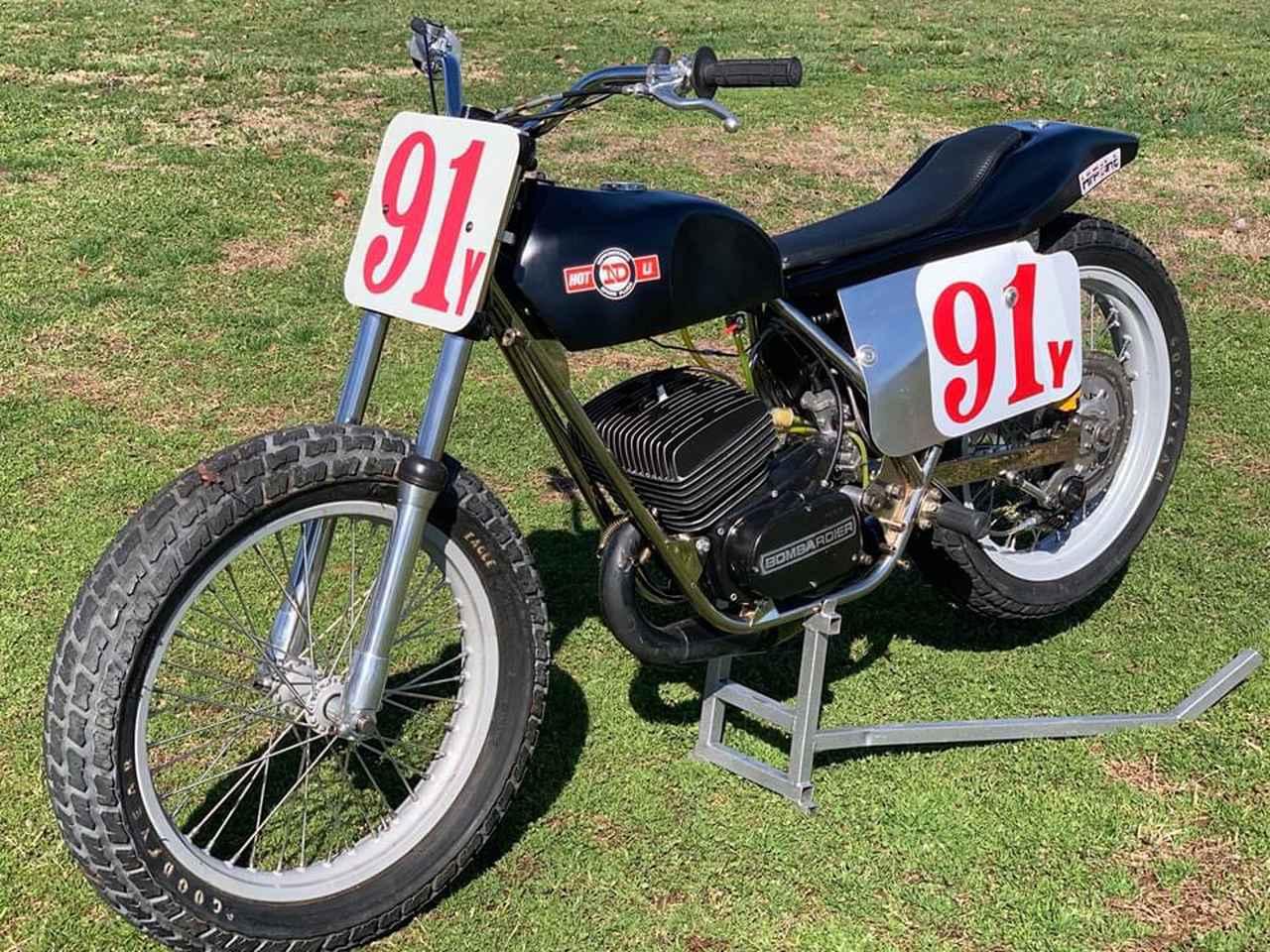 画像: あのクリス・カーがアマチュア・ジュニアクラス時代に駆った実車。CAN-AM製250cc搭載のBOSS。