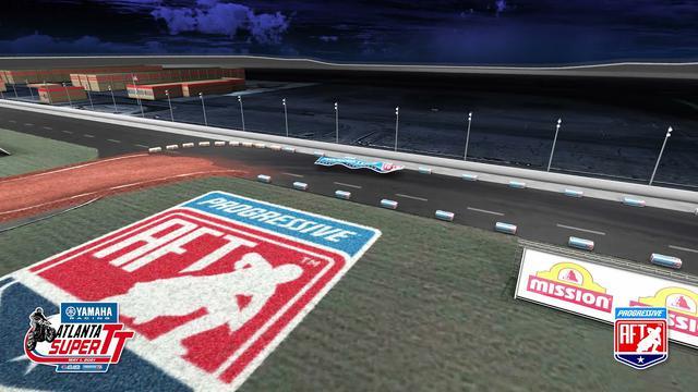 画像: Atlanta Super TT Dynamic Render - American Flat Track youtu.be