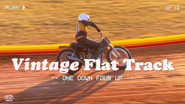 画像: We Go Vintage Flat Track Racing With A Honda XL250, Sort Of youtu.be