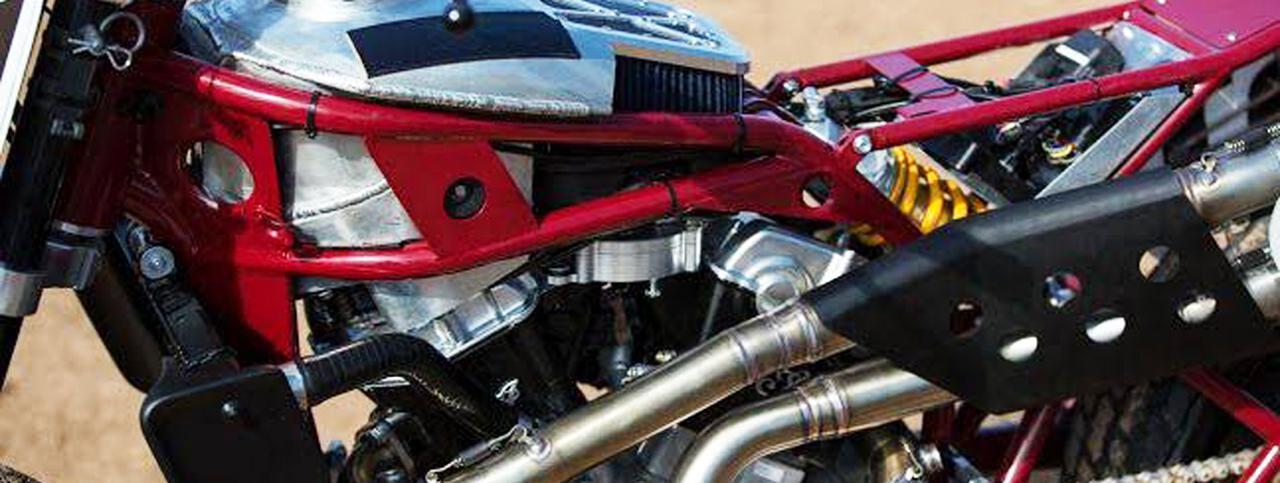 画像: [Flat Track Friday!!] ひっそりと?こっそりと?全米プロ選手権のトップカテゴリーで、シーズン途中なのにXXXな車両規定変更!? - LAWRENCE - Motorcycle x Cars + α = Your Life.