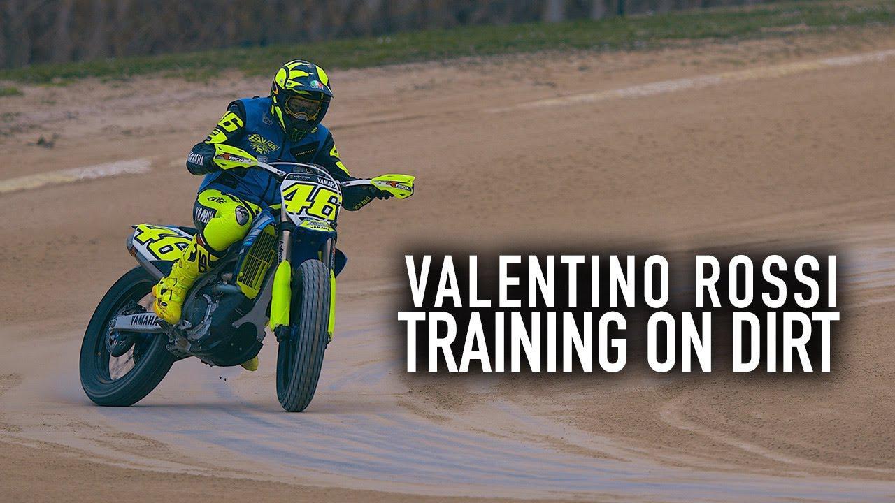 画像: Valentino Rossi: The Why & How of Training on Dirt youtu.be
