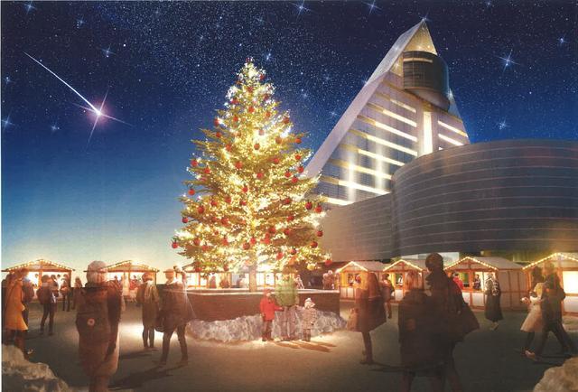 画像: 青森県でクリスマスマーケットを開催、前夜祭のテープカットにスタートアップ2社