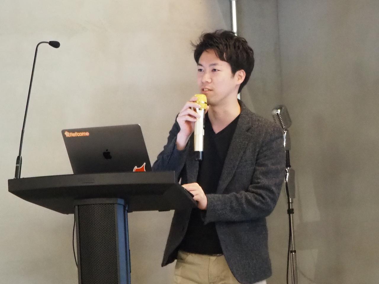 画像: 株式会社リフカム代表取締役 清水巧氏
