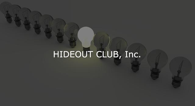 画像: 株式会社ハイドアウトクラブ(HIDEOUT CLUB, Inc.)