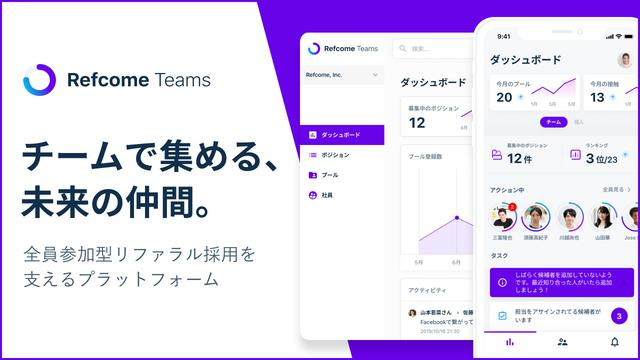 画像: Refcome Teams